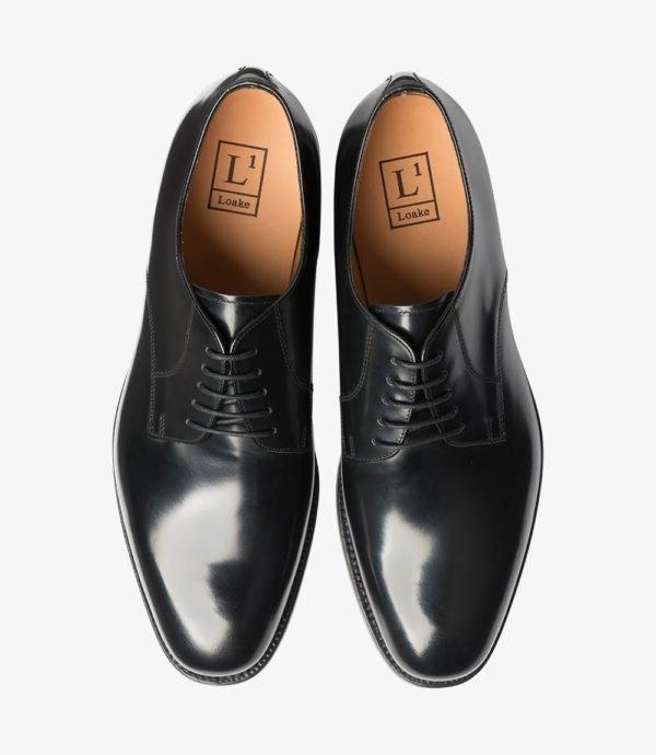 Juodi odiniai batai vyrui