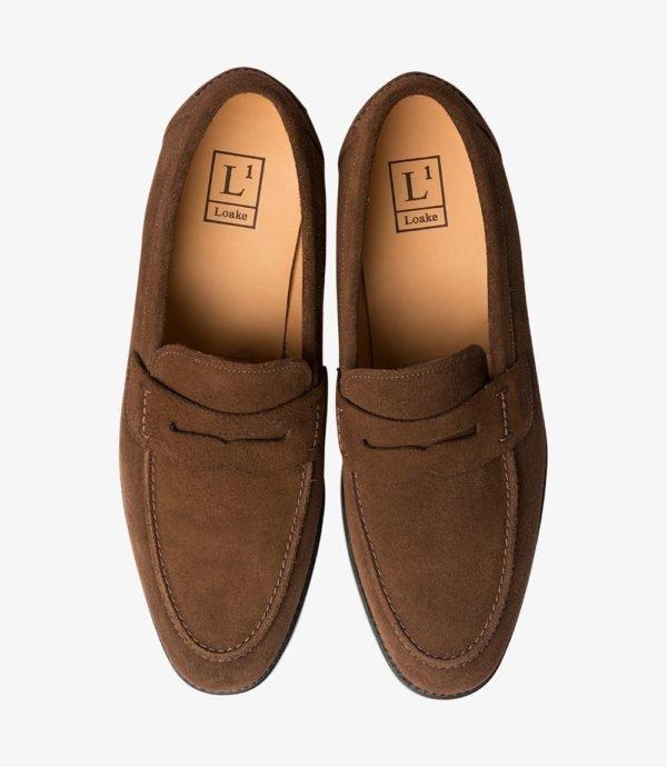 Penny loafer batai rudi vasariniai