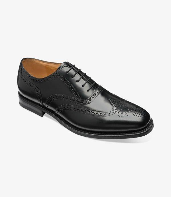 Odiniai vyriški platūs batai prie kostiumo