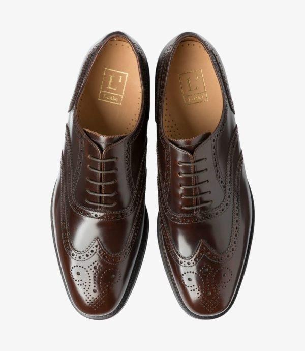 Rudi vyriški kostiuminiai oxford batai
