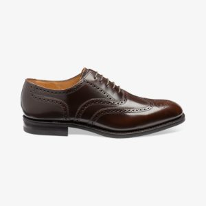 Rudi vyriški batai prie kostiumo plačiai pėdai