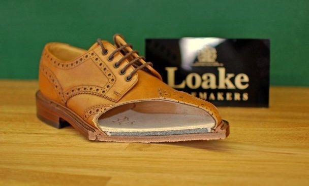 Goodyear welted rantavimo batų konstrukcija