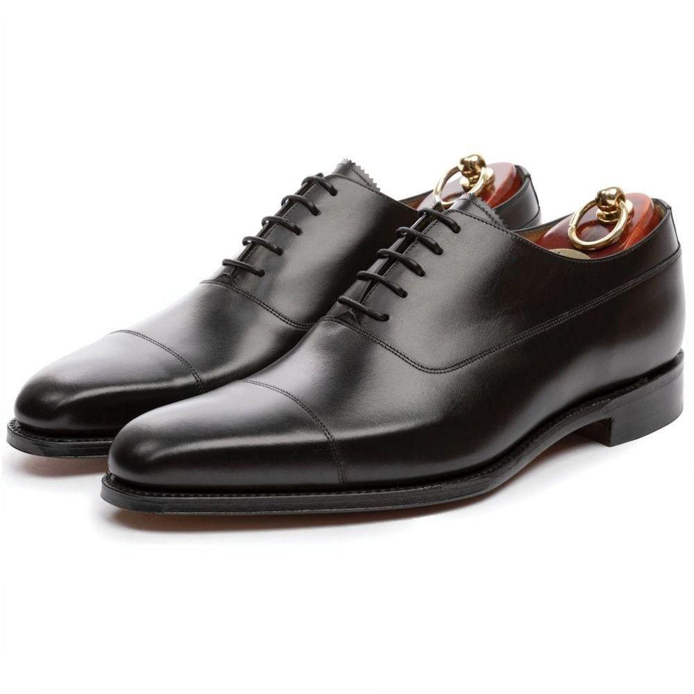 Cap toe oxford juodi batai