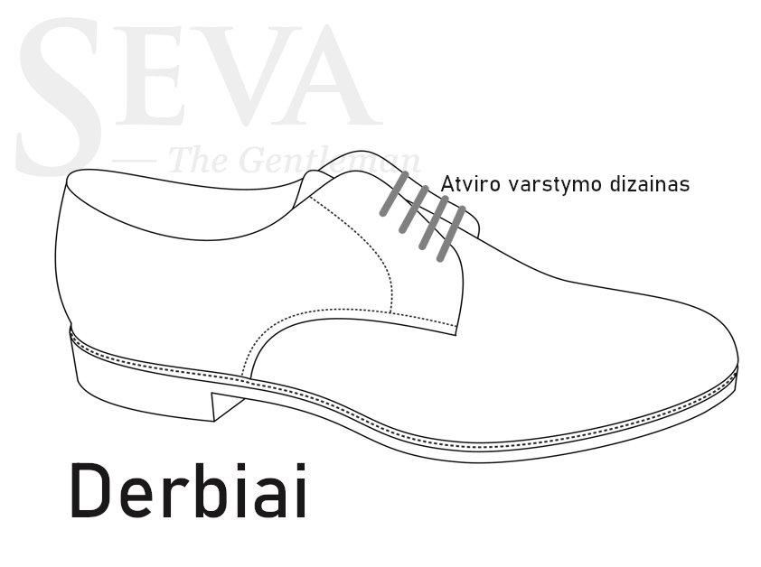 Derby tipo batai (derbiai)