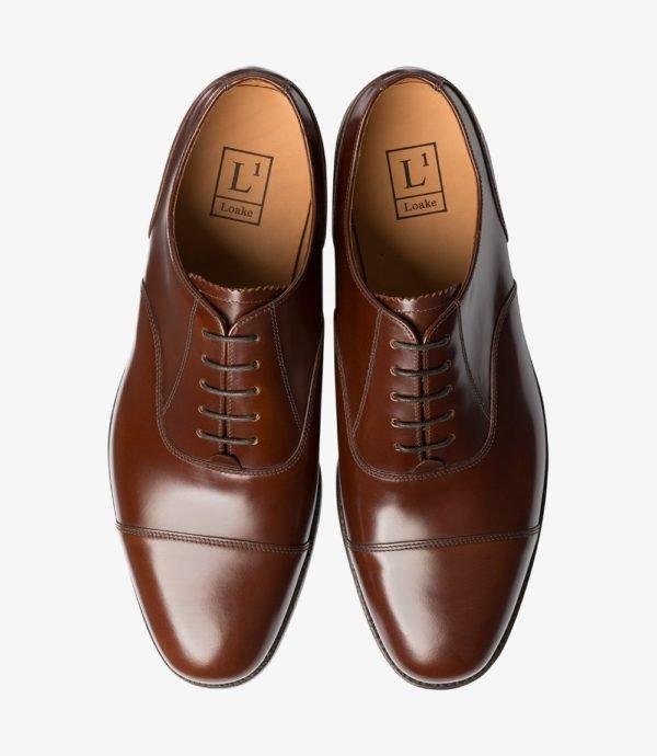 Klasikiniai rudi vyriški batai
