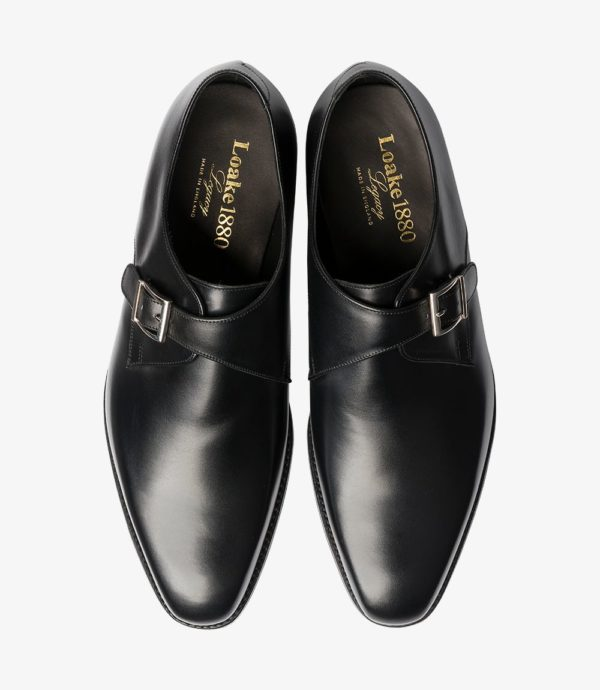 Juodi vyriški batai su sagtimi