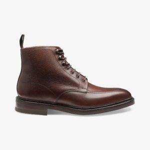 Loake Anglesey odiniai vyriški rankų darbo batai su aulu