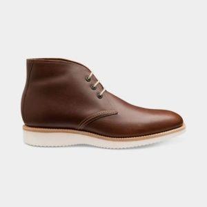 Loake Python rudi odiniai vyriški batai rudeniui ir žiemai