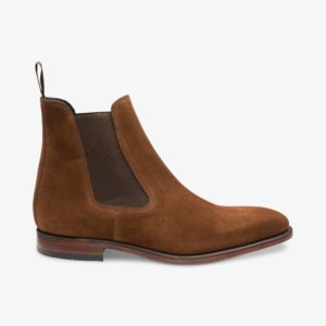 Zomšiniai auliniai batai su guma (Chelsea)