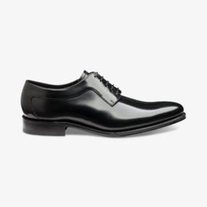 Klasikiniai juodi vyriški batai iš Anglijos
