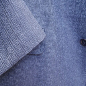 Scabal mėlynas vyriškas švarkas eglutės raštas