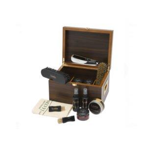 Batų priežiūros priemonių rinkinys, dovanų dėžė