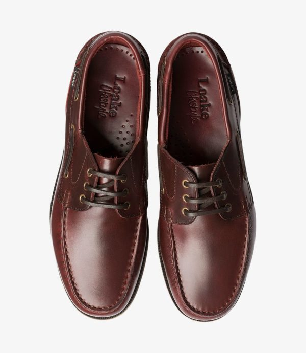 Loake 521 bordo vasariniai vyriški batai