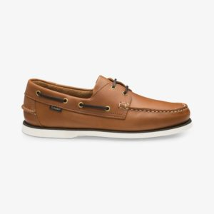 Loake 528CH šviesiai rudi odiniai vyriški batai vasarai