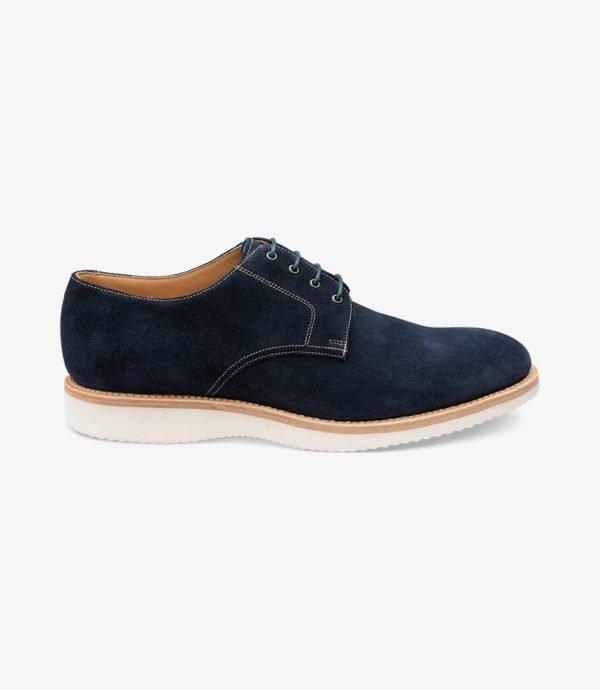 Loake Adder kasdieniai kokybiški vyriški batai mėlyni