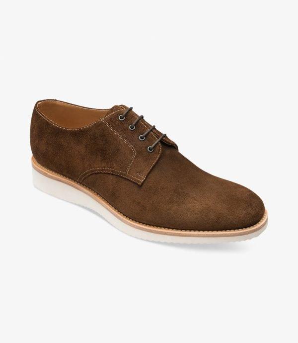 Loake Adder kasdieniai stilingi vyriški batai rudi