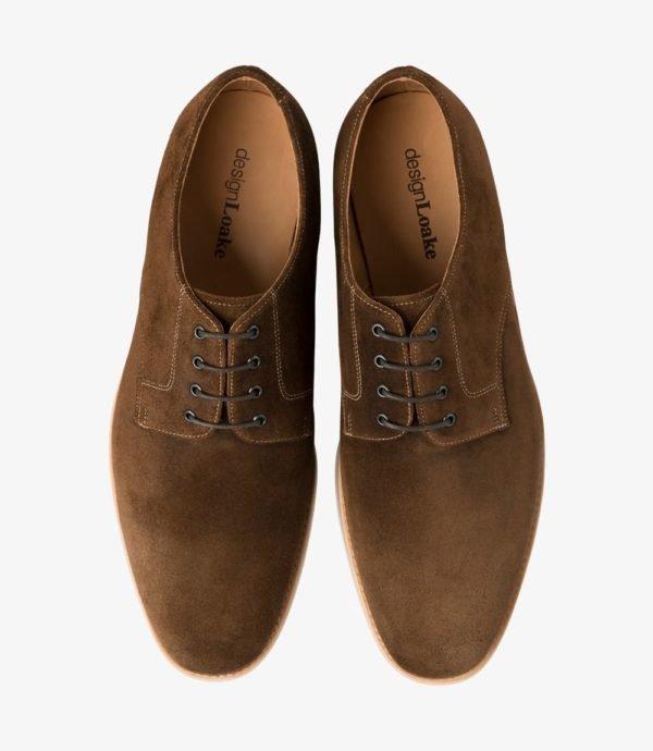 Loake Adder kasdieniai stilingi vyriški rudi batai