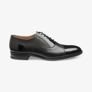 Loake Bibury juodi vyriški batai prie kostiumo