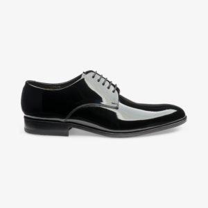 Loake Bow juodi lakuoti vyriški batai