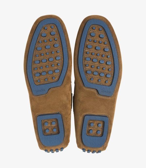 Loake Donington rudi vyriški batai vairavimui