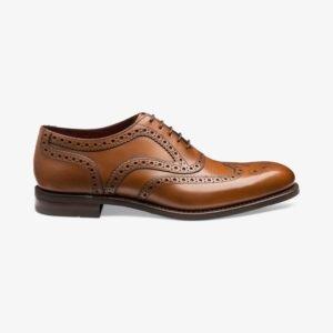Loake Kerridge rudi vyriški odiniai batai prie kostiumo