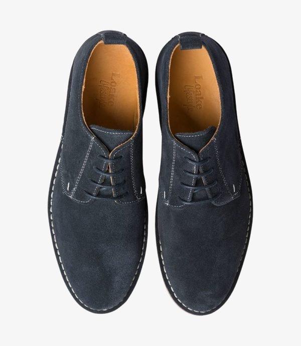 Loake Mojave vyriški batai kokybiški geri mėlyni