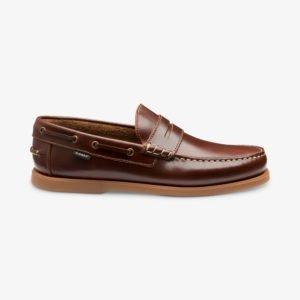 Loake Plymouth įsispiriami denio batai be raištelių