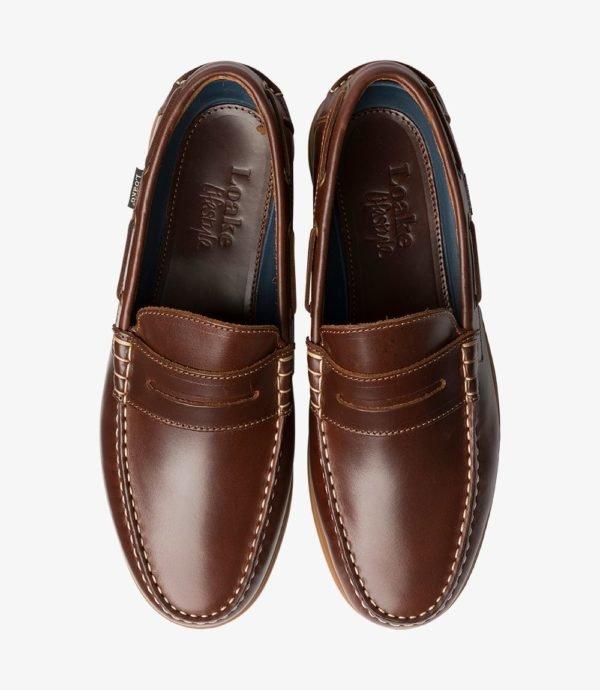 Loake Plymouth odiniai vyriški batai vasarai