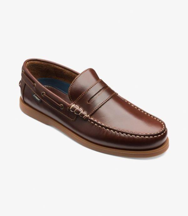 Loake Plymouth vasariniai odiniai vyriški batai be raištelių