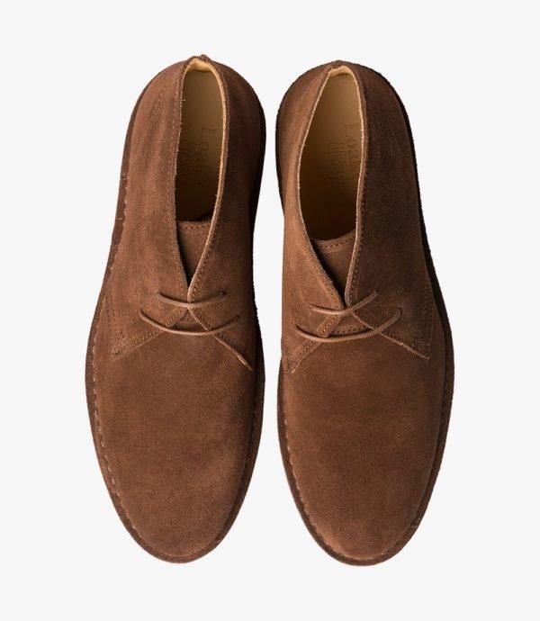 Loake Sahara kasdieniai vyriški batai prie džinsų