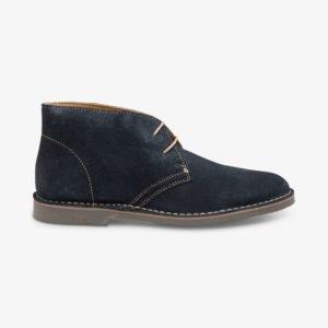 Loake Sahara mėlyni zomšiniai dykumos batai