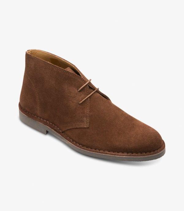 Loake Sahara rudi zomšiniai pusauliai batai