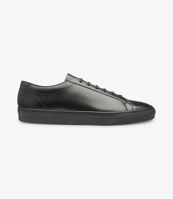 Loake Sprint kokybiški vyriški odiniai juodi kedai
