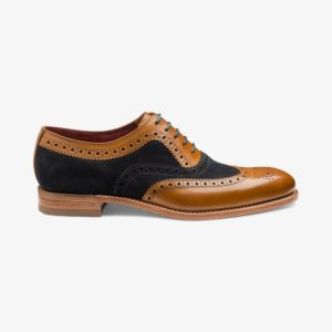 Loake Thompson stilingi originalūs batai prie kostiumo