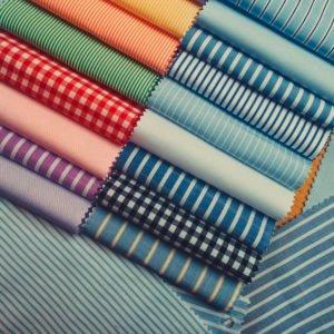 Marškinių siuvimo audiniai
