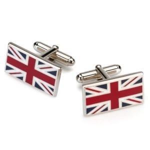 Sąsagos su D. Britanijos vėliava