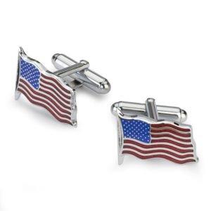 Sąsagos su JAV vėliava