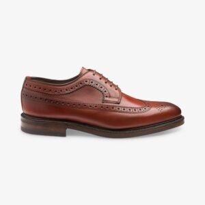 Loake Birkdale Raudonmedžio spalvos odiniai vyriški batai