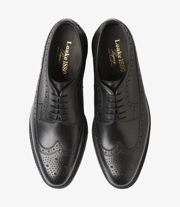 Loake Birkdale Juodi odiniai vyriški batai