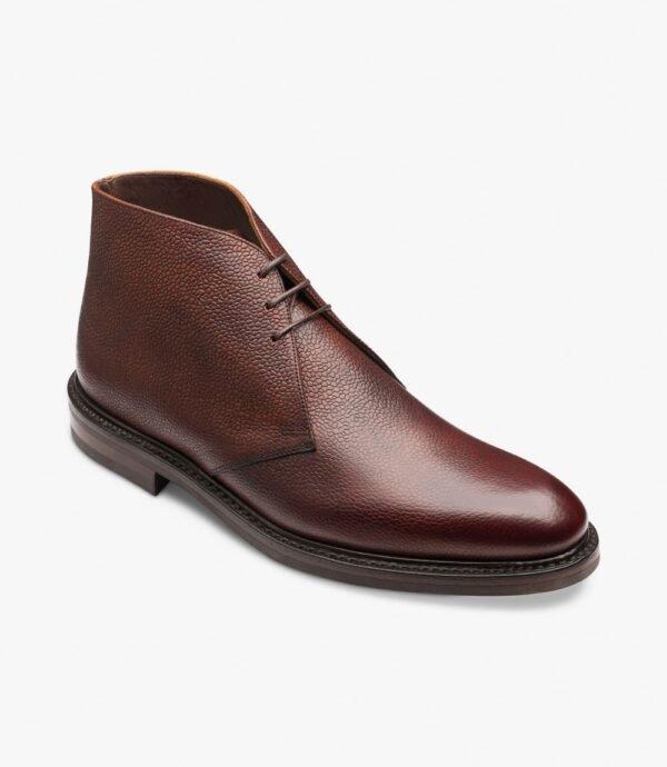 Loake Lytham rudi batai žemu aulu