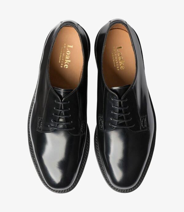Loake Waverley juodi stilingi odiniai batai
