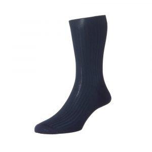 Mėlynos vyriškos kojinės Pantherella