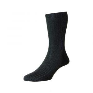 Tamsiai pikos vyriškos kojinės Pantherella Vale