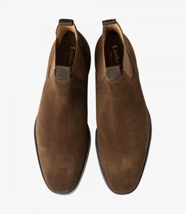 Loake Chatsworth rudi zomšiniai chelsea batai